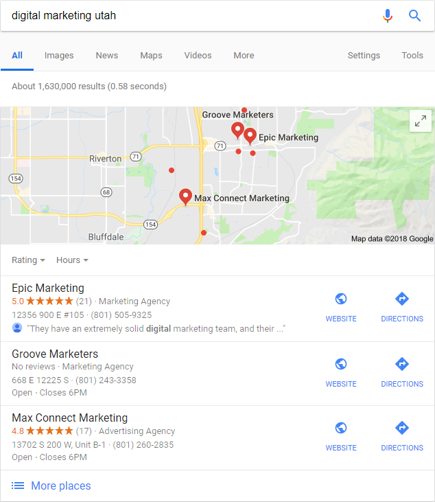 digital marketing utah